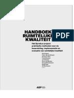 Inhoudstafel Handboek NL