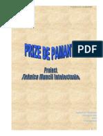 Proiect TMI Prize de Pamant