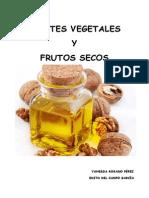 Aceites Vegetales y Frutos Secos