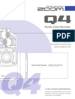Zoom Q4 Manual