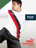2012 2013 PUMA Teamwear Catalogue