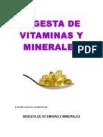 Vitaminas y Minerales 2014