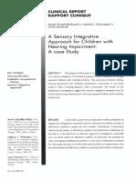 A Sensory Integrative