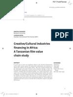 Creative Industries in Africa