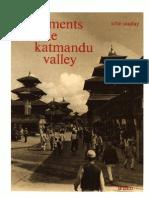 Monuments of the Katmandu Valley - John Sanday
