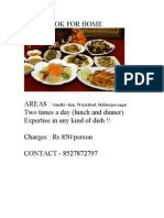 Cook for Home