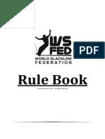 WS Fed - Slackline Rule Book (2013) 0f3a17104e