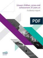 unseen children - access and achievement 20 years on