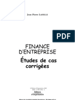 Etudes Finance Extraits