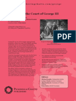 Memoirs of the Court of George III - leaflet