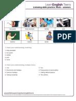 Work - Answers 1