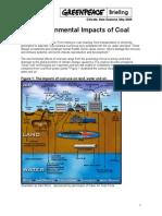 Enviro Impacts of Coal