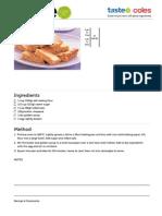 Oatmeal Slice Recipe - Taste.com