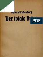 Der Totale Krieg Ludendorff