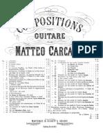Mateo Carcassi - Op. 40 Fantasía sobre la ópera Zampa