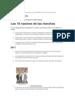 Las 10 Razones de-la Marcha LaNacion Duenos-De-la-calle