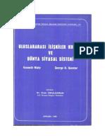 Uluslararası İlişkiler Kuramı ve Dünya Siyasal Sistemi