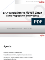 SAP Migration to Linux