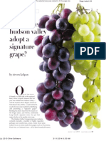 Should the Hudson Valley Adopt a Signature Grape?