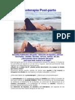 Presoterapia Postparto