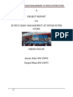 Imtiaz Store Supply Chain Management