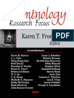 Criminology Research