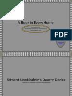 The Quarry Device of ed leedskalnin