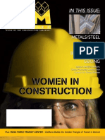 CAM Magazine October 2009 - Women in Construction, NAWIC, Metals, Steel