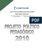 Projeto Politico Pedagogico 2010