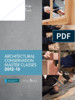 Architectural Conservation Masterclasses 2013 (History Scotland Alba Aosmhor and Inverness College UHI)