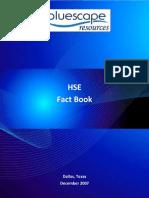 HSE Fact Book