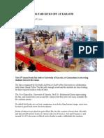 15th Annual Book Fair Kicks Off at Karachi University
