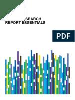 Rc Equity Research Report Essentials CFA Institute