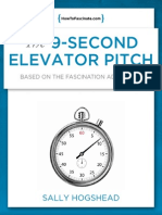 The 9-Second Elevator Pitch