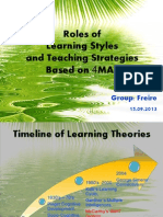 freire roles of learning style