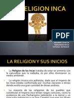 La Religion Inca Trabajo Colegio