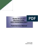 RICOH MPC2030 service manual