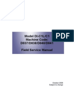 RICOH MPC2030 service manual