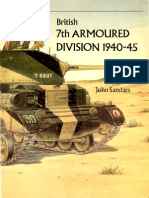 Vanguard 01. British 7th Armoured Division 1940-45