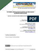 Fatores críticos de sucesso na educação superior brasileira