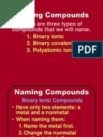 naming compounds bju