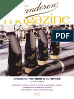 Vandoren Magazine 2 (English)