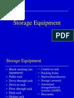 storage equipment in industries