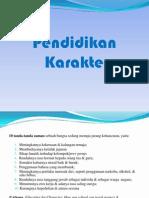 Presentation Pendidikan Karakter Feisal Puskur