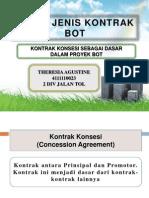 PPT Kontrak Konsesi Sbg Dasar Proyek BOT