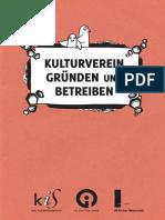Kulturverein Gruenden Und Betreiben Web