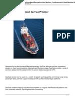 Maritime Broadband Service Provider