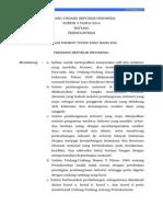 Undang-Undang Nomor 3 tahun 2014 tentang Perindustrian