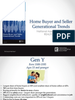 2014 Nar Home Buyer Seller Generational Trends