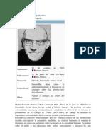 Michel Foucault biografía